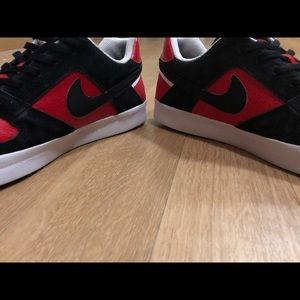 Nike Shoes - Nike SB Delta Force Vulc - Red | Size 11
